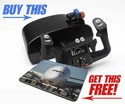 FREE A380 Mouse Pad with Every CH Products Eclipse Flight Yoke Ordered