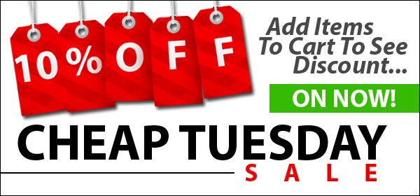 Cheap Tuesday Sale on now!