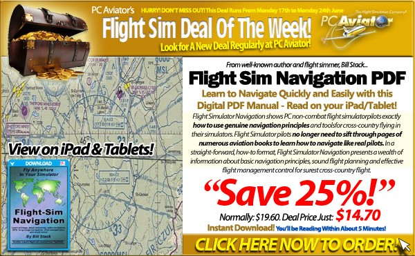 Flight Sim Navigation E-Book PDF - 25% OFF