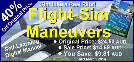 40% OFF Flight Sim Maneuvers Digital E-Book
