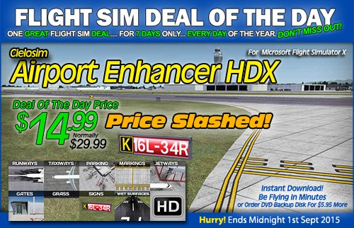 Airport Enhancer HDX - Save 50% Sale