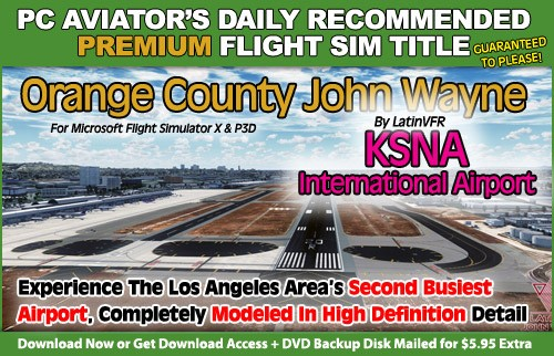 PC Aviator's Recommended Title - Orange County John Wayne Airport