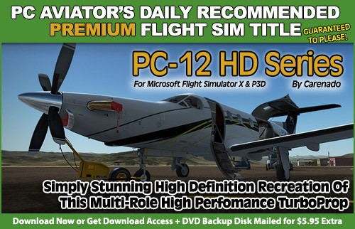 PC Aviator's Recommended Title - Carenado PC12