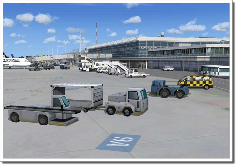 Instant Download) German Airports 2 - 2012 for FSX and FS2004