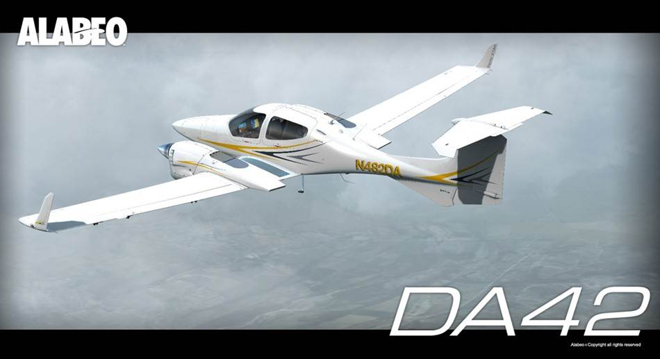 Download Alabeo DA-42 Twin Star for FSX and P3D
