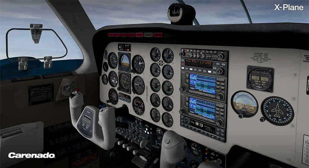 Carenado Beechcraft Baron B58 v3 2 for X-Plane 10 30+