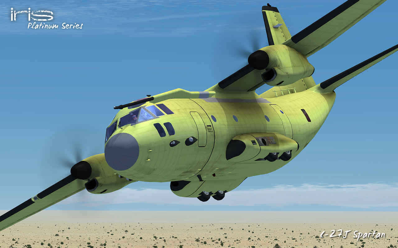 IRIS - Airforce Series - Tactical Airlifter [FSX]
