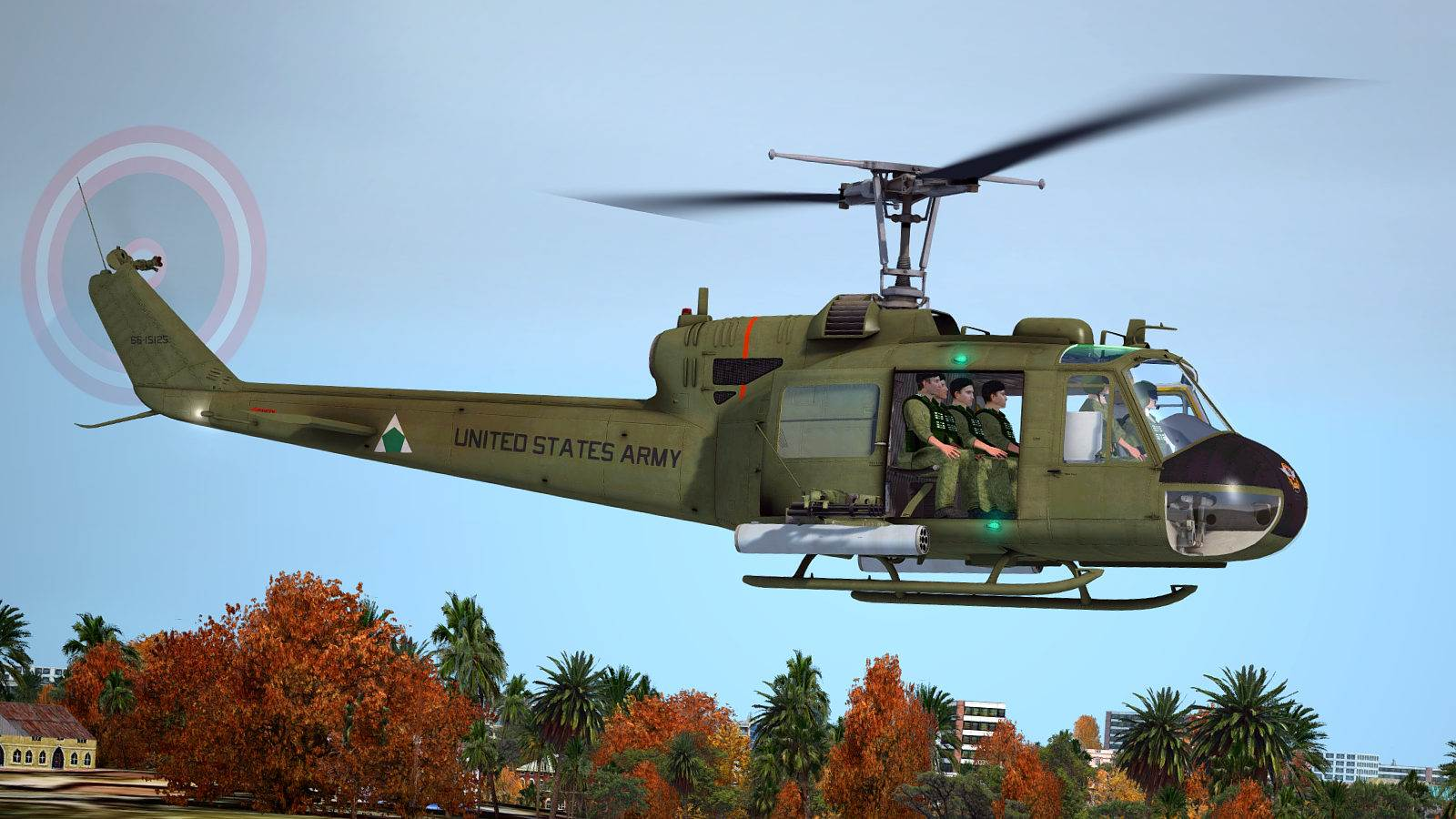 Uh 1 Elicottero : Milviz uh c h huey redux