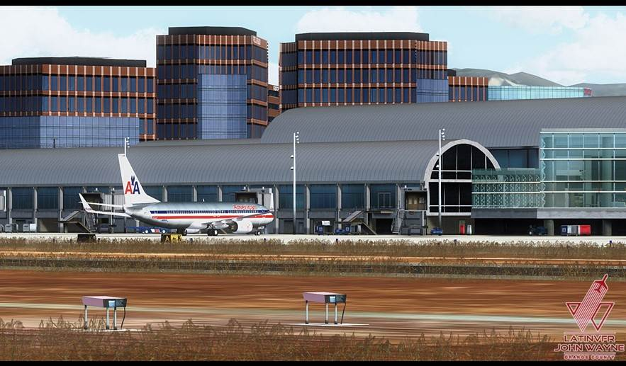 Buy latinvfr orange county john wayne airport ksna for fsx and p3d orange county john wayne ksna sciox Images