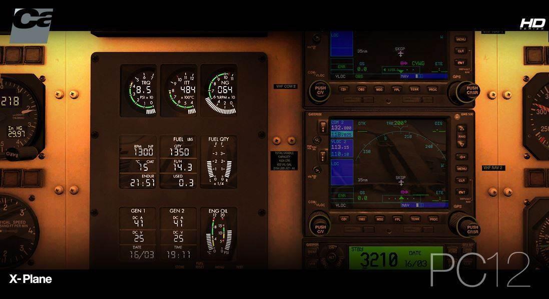 Carenado PC-12 HD SERIES for X-Plane 10