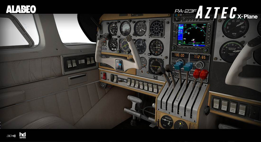 Alabeo PA23 Aztec F250 for X-Plane