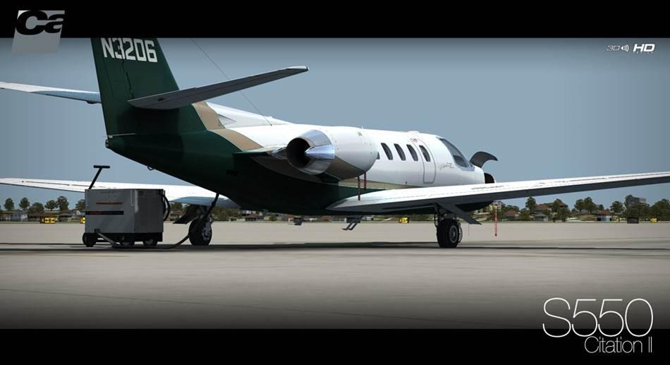 Carenado Cessna Citation Carenado S550 Citation ii hd