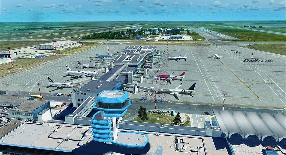 Aeroporto Romania : Bucharest otopeni international airport henri
