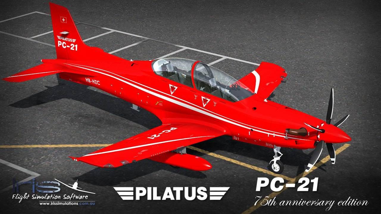 IRIS - Pro Training Series - Pilatus PC-21 75th Anniversary Edition [FSX]