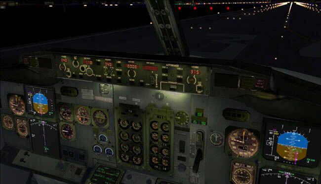 How to set altimeter 737
