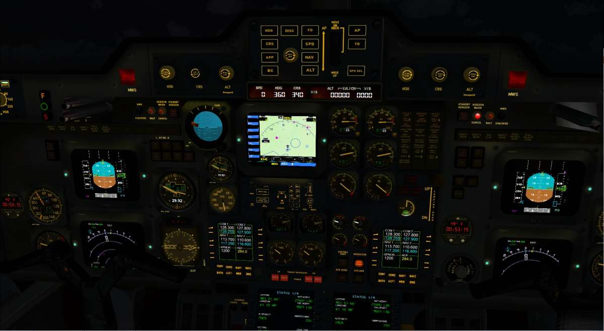 800XP BizJet for FSX and P3D - New