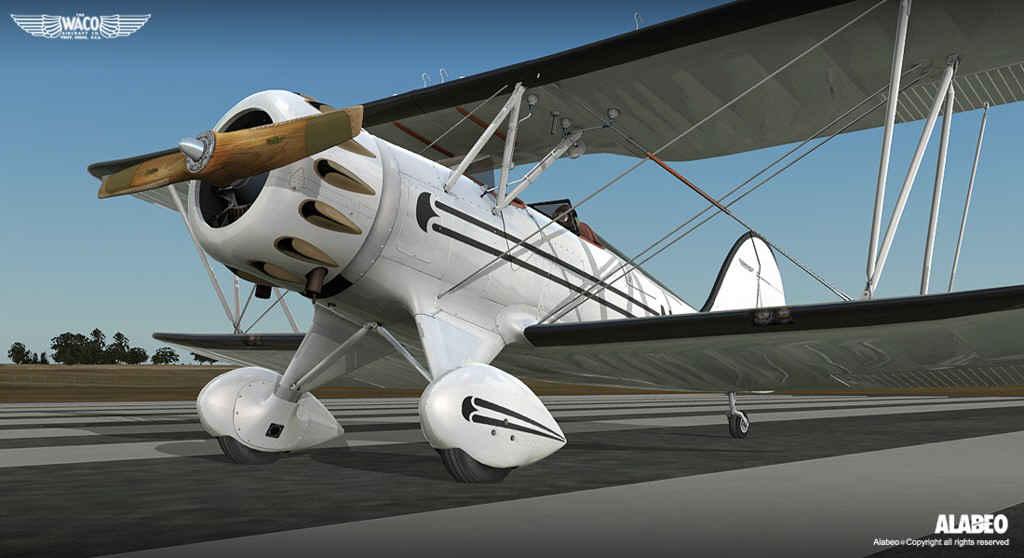Alabeo Waco YMF5 HD Bi-Plane (FSX/FSX:SE/P3D)