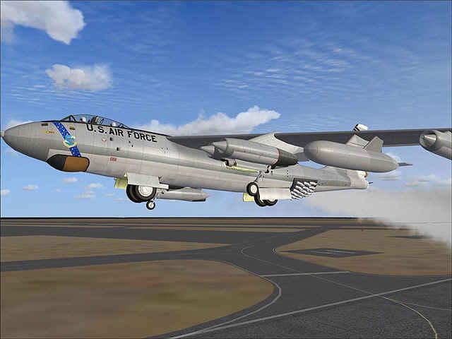 Virtavia B-47E Stratojet V2 (FSX)