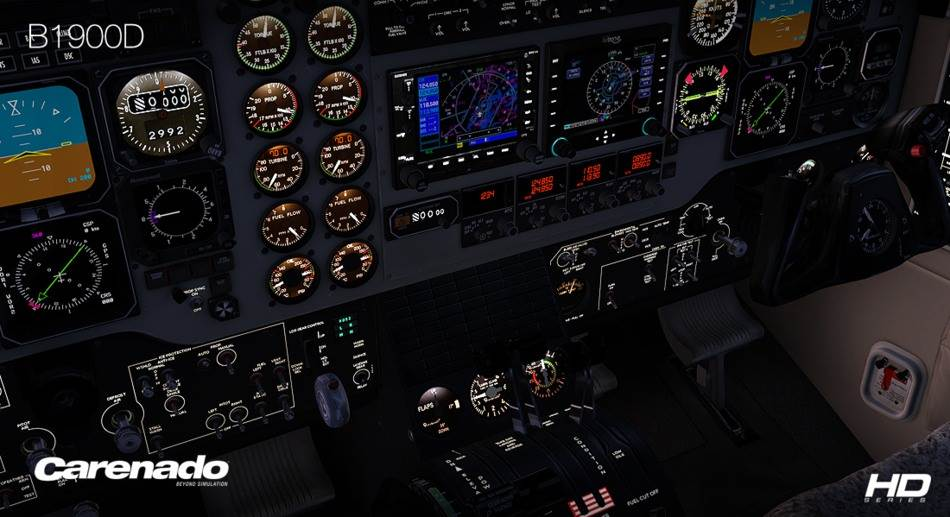 Carenado B1900D HD Series (FSX/FSX:SE/P3Dv2-v4)