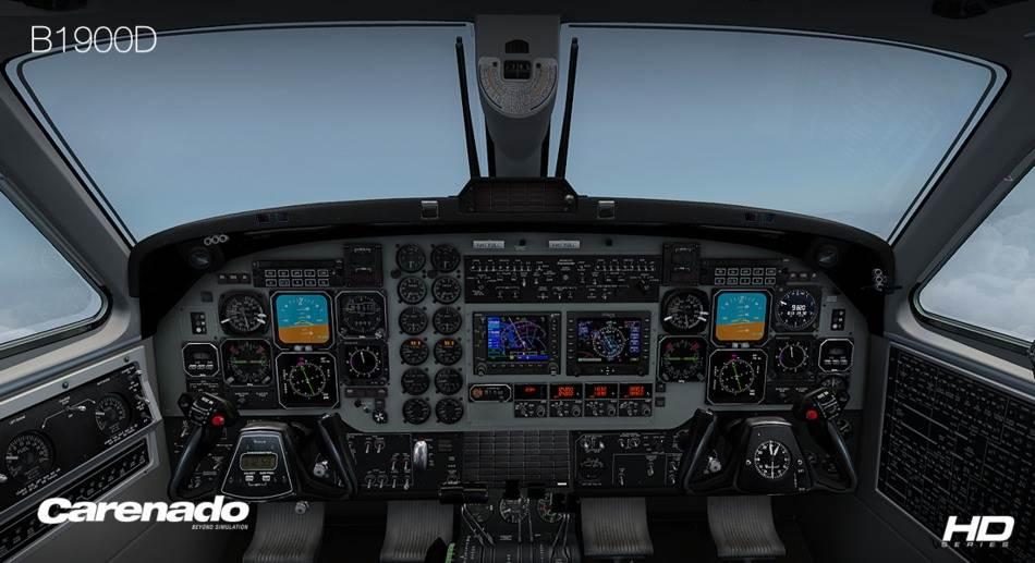 Carenado B1900D HD Series (FSX/FSX:SE/P3Dv2-v4)