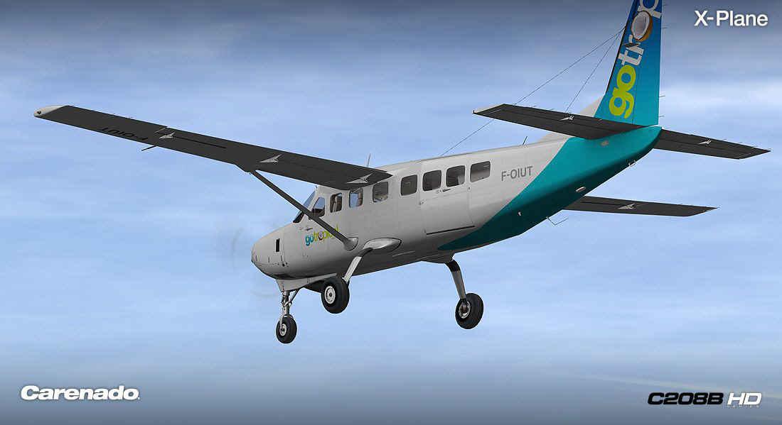 Carenado Cessna Carenado Cessna 208b hd Series