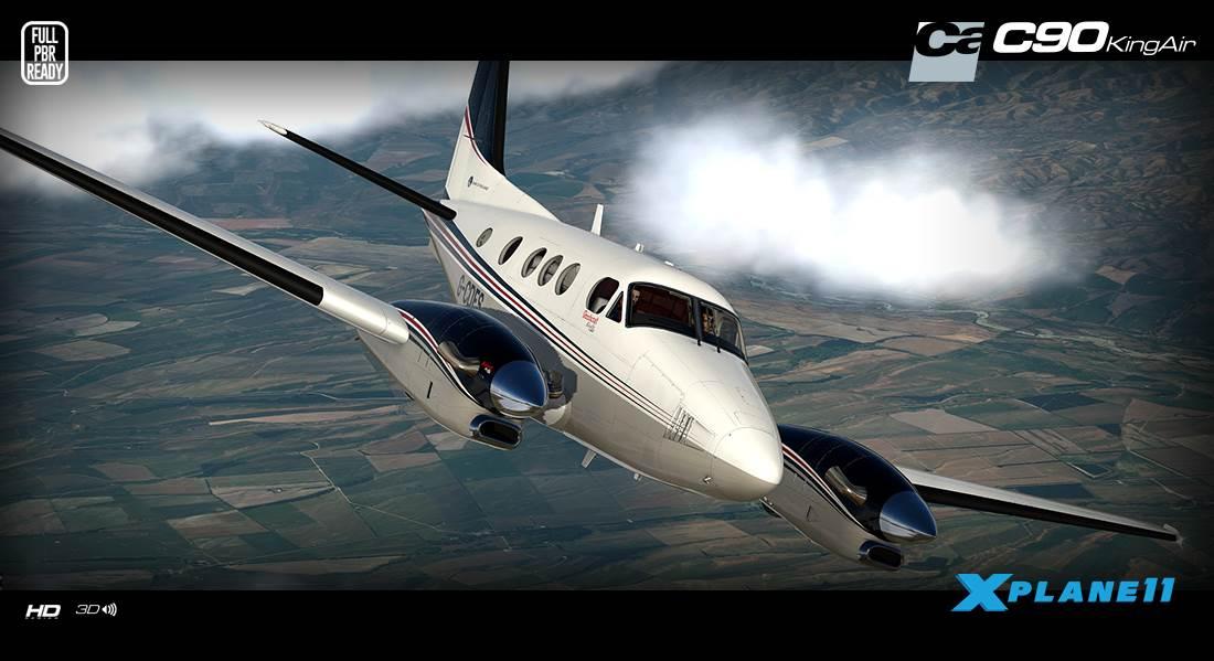 Carenado C90B King Air HD Series (X-Plane 11)