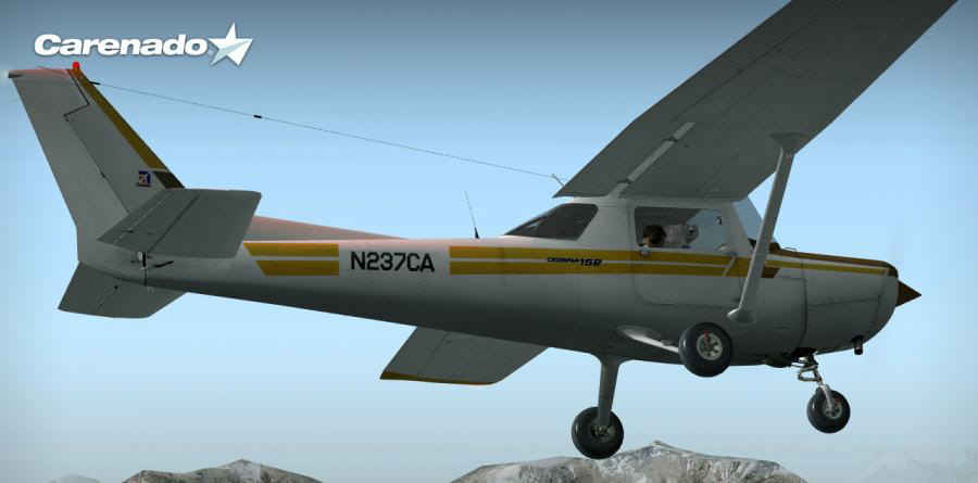 Carenado Cessna 152 Fs9 Carenado Cessna 152 ii For