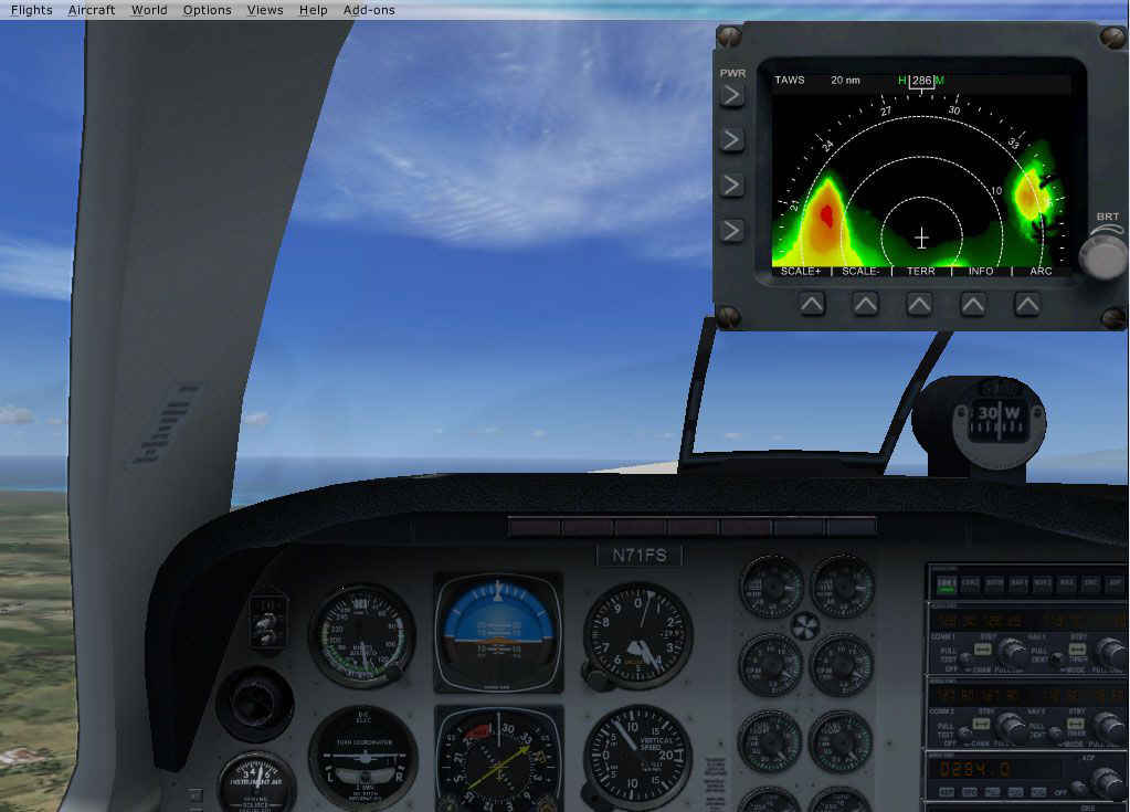 DBS Terrain Awareness and Warning System (FSX Steam Edition)