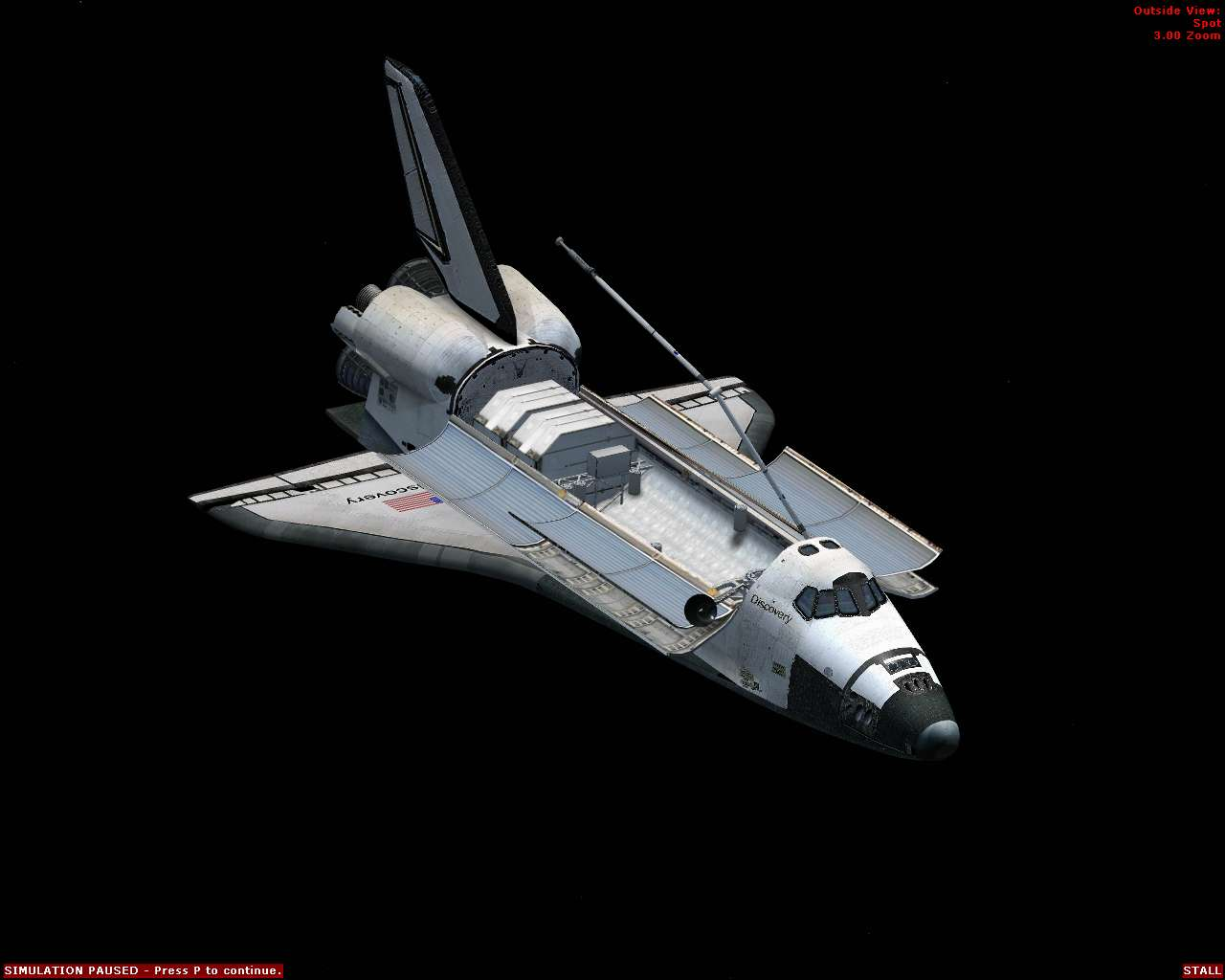 space shuttle flying - photo #18
