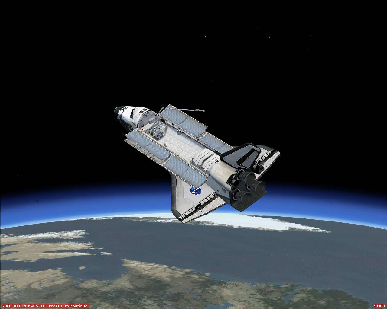 space shuttle flying - photo #40