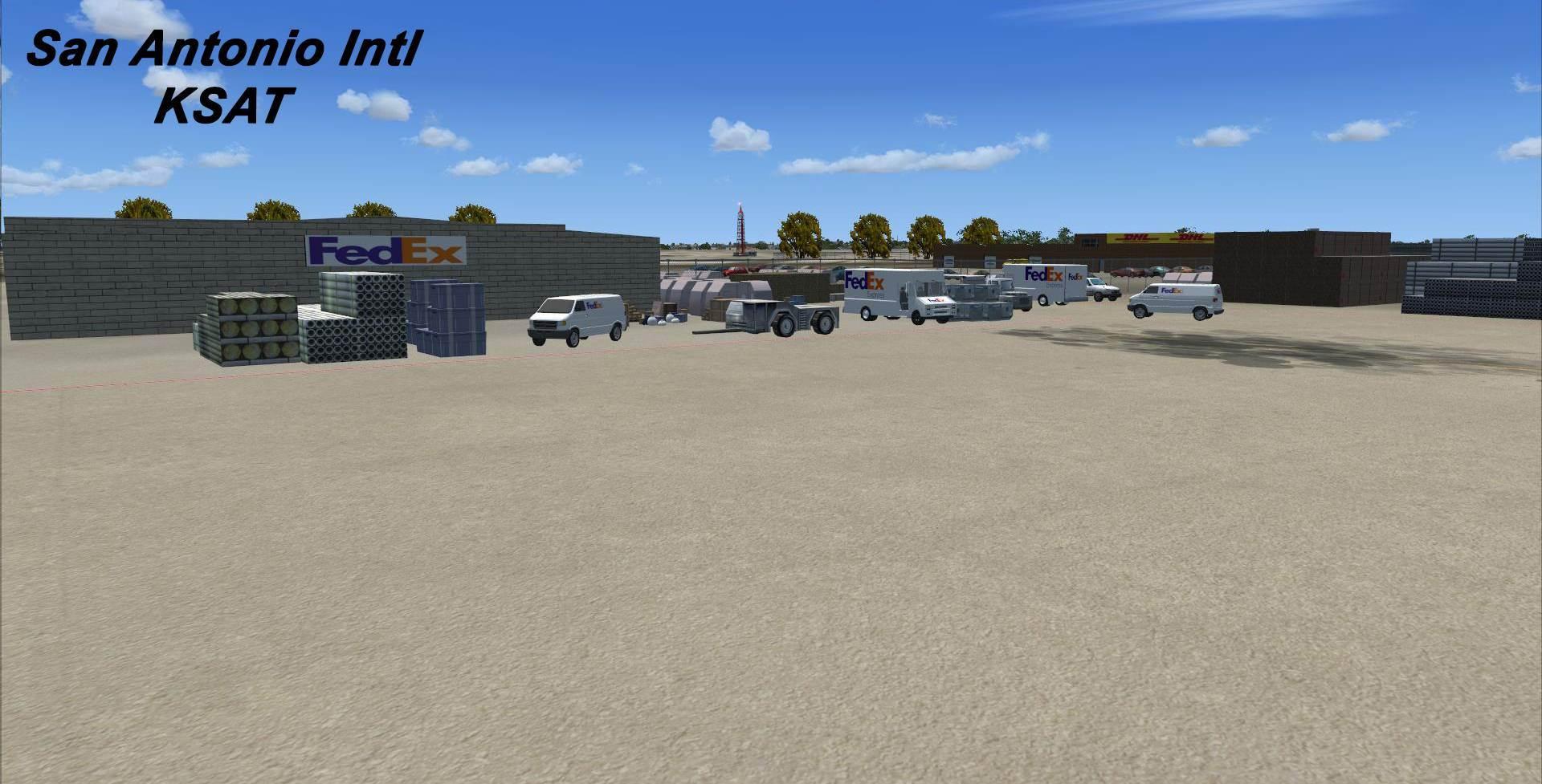 San Antonio International Airport Ksat