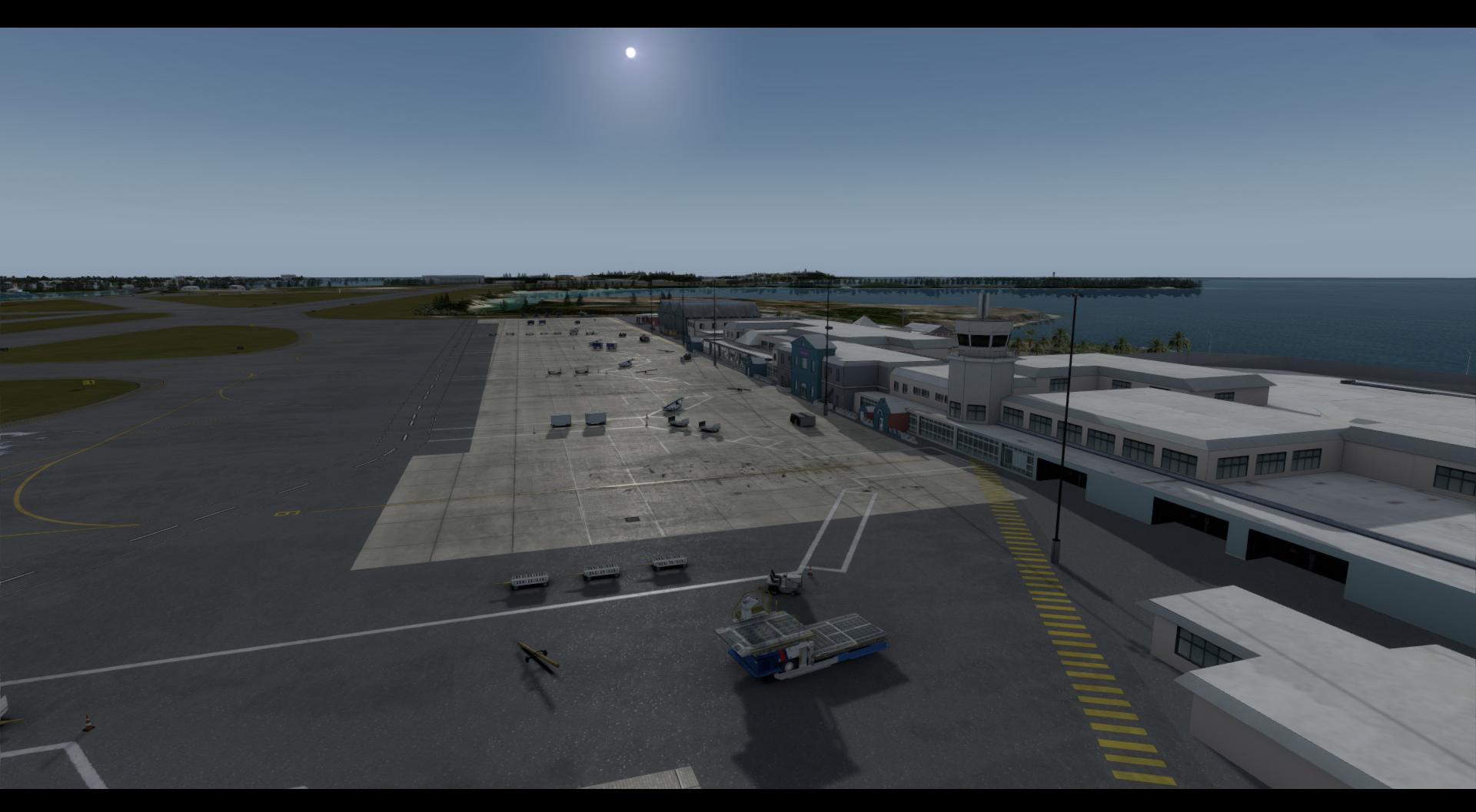 Bermuda TXKF Version 2 (P3Dv4 Only)