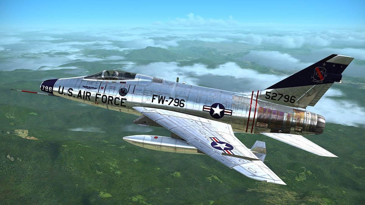 MilViz F-100D Super Sabre for FSX/FSX:SE/P3D