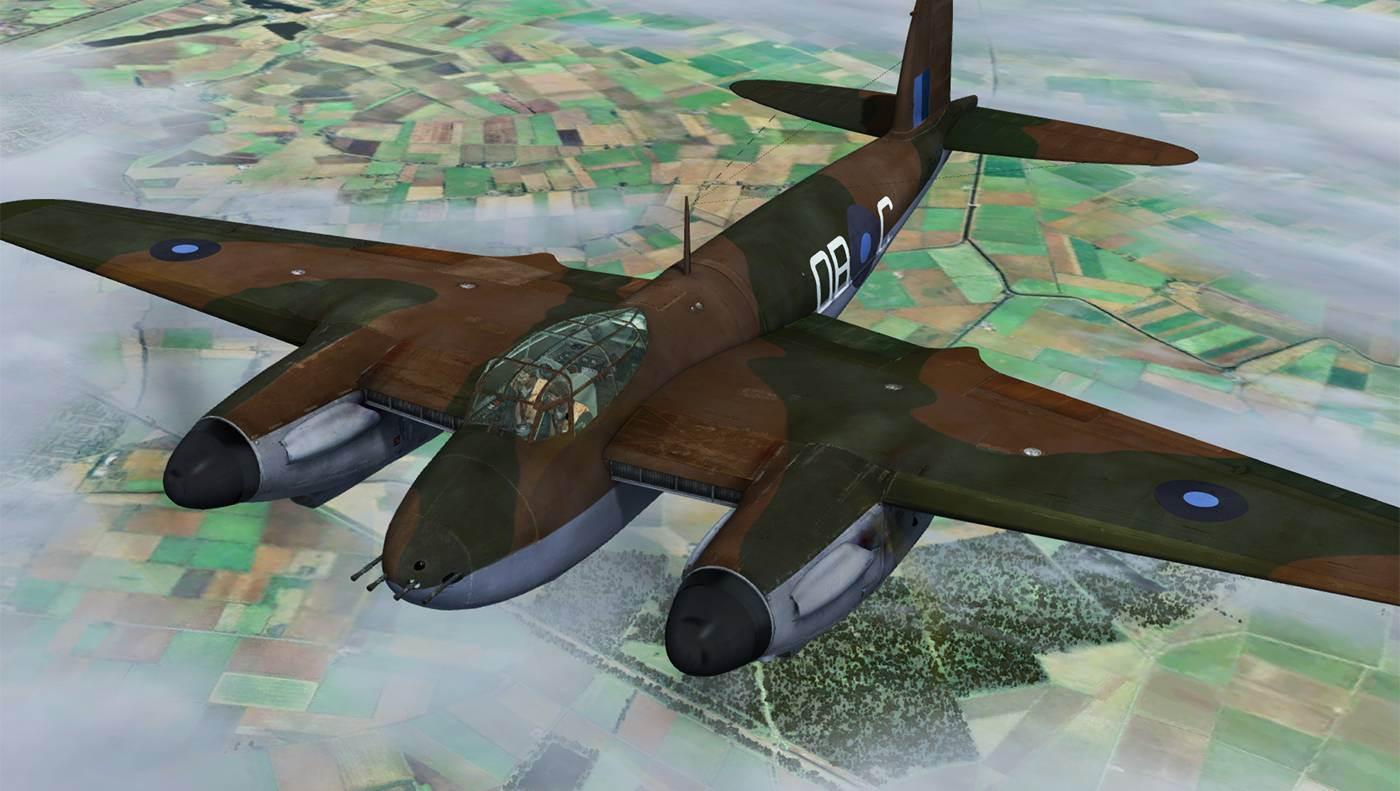 DH 98 Mosquito FB Mk VI (FSX/FSX:SE/P3D)
