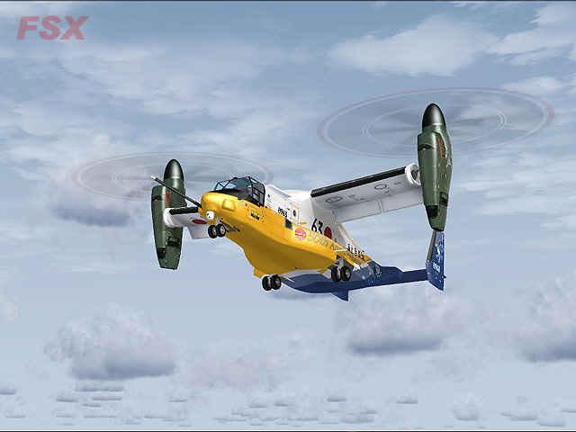 Bell-Boeing V-22 Osprey (FSX/FS2004)