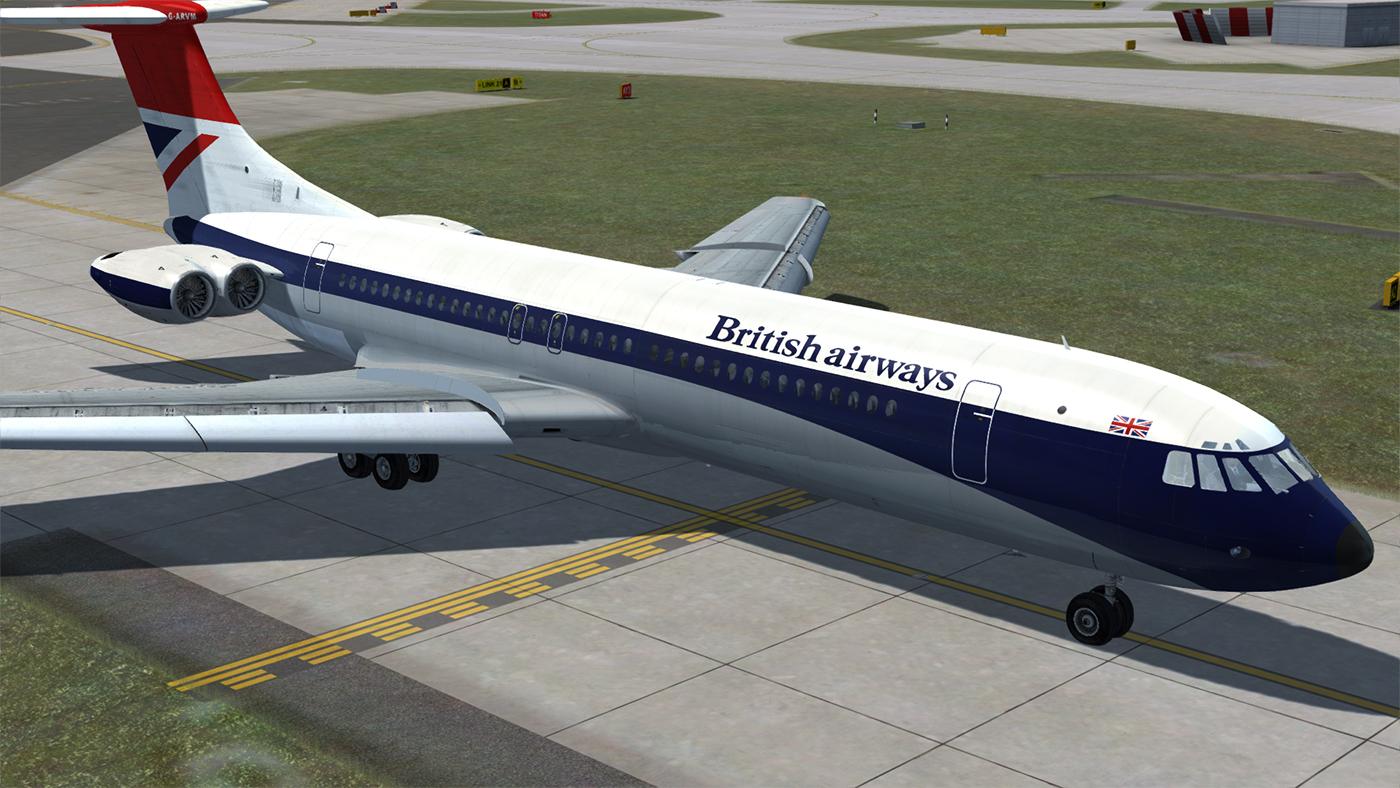 VC-10 Jetliner (FSX/FSX:SE/P3Dv1-v4)