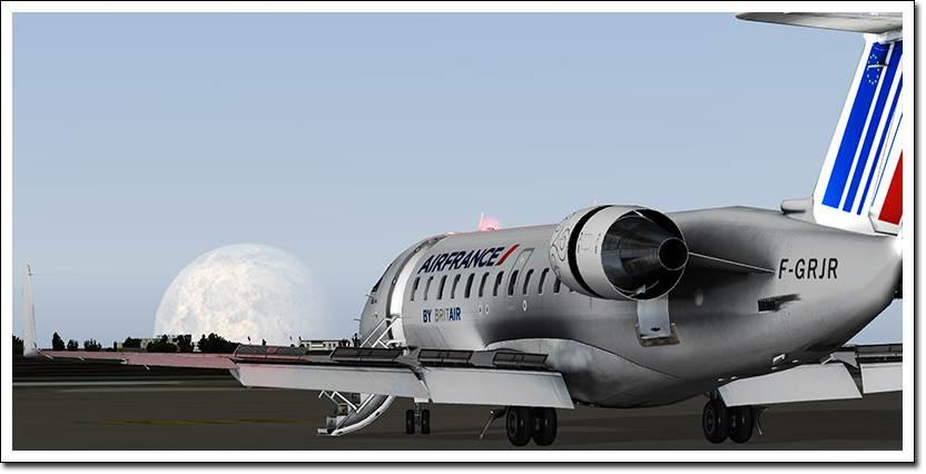 X-Plane Crj-200