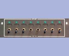 GoFlight (GF-T8-2) Toggle Switch Module