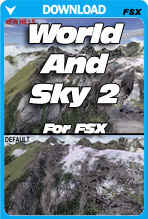 World and Sky 2 For FSX