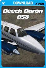Carenado Beechcraft Baron B58 v3.2 for X-Plane 10.30+