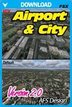 Airport & City v2 for FSX