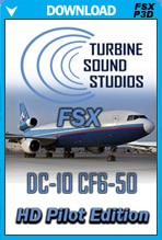 DC-10 CF6 Pilot Edition Soundpack