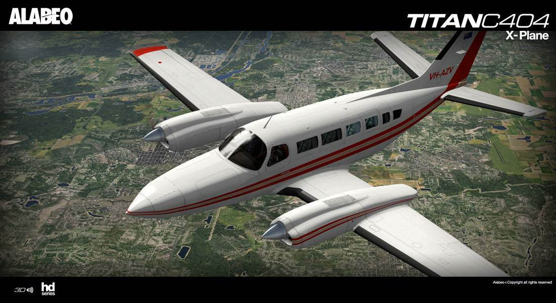 Alabeo C404 Titan for X-Plane 10.40+