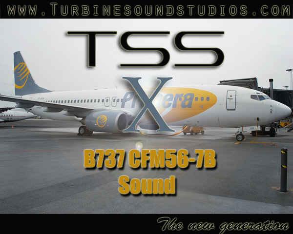 Boeing 737NG CFM56-7B Soundpack for FSX