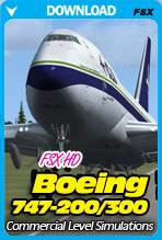 Boeing B747-200/300 HD for FSX