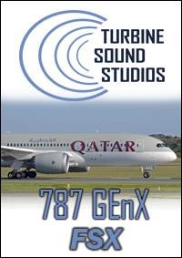 Boeing 787 GEnX Soundpack for FSX