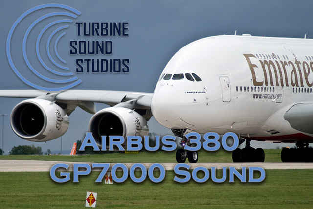 Airbus 380 GP7000 soundpack for FS2004