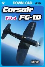 MilViz - FG-1D Corsair (P3Dv4)