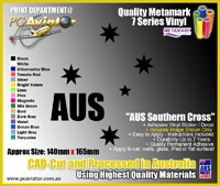 Australia Southern Cross Sports Team Decal