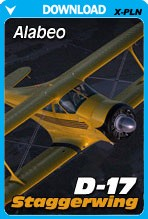 Alabeo-D17-Staggerwing-for-Xplane-PCAvia